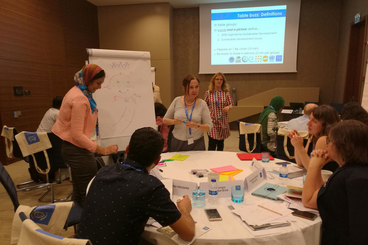 UNOSSC conducts the first orientation training in Istanbul as part